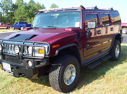 Hummer Three-Quarter View