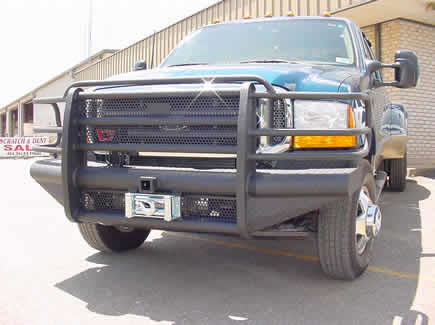 Ford F350 Bumper Replacement