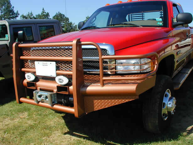 Red Dodge Ram 1